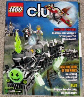 Lego Club Magazine, July   August 2012 Featuring Monster Fighters (Challenge Lord Vampyre for the powerful Moonstonstones), Lego The Lord of the Rings (An exciting new contest you can enter), Plus (Ninjago, Hero Factory, and much more)