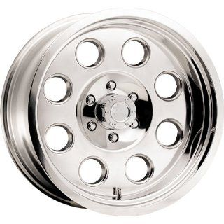 American Racing ATX Mojave 18x9.5 Chrome Wheel / Rim 5x135 with a  24mm Offset and a 87.10 Hub Bore. Partnumber AX608189535 Automotive