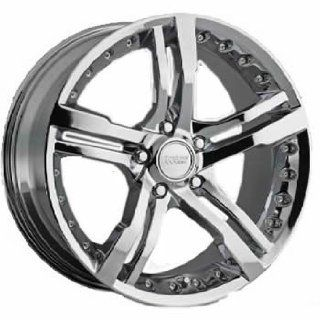 Cruiser Alloy Switchblade 5 20x8.5 Chrome Wheel / Rim 5x4.5 with a 35mm Offset and a 73.00 Hub Bore. Partnumber 904C 2856535 Automotive