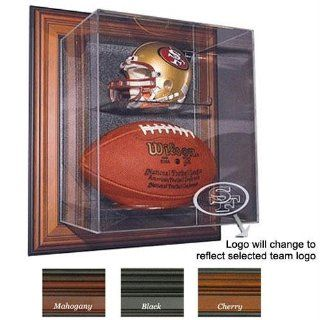 "Indianapolis Colts NFL Case Up"" Mini Helmet & Football Display Case (Black)"""