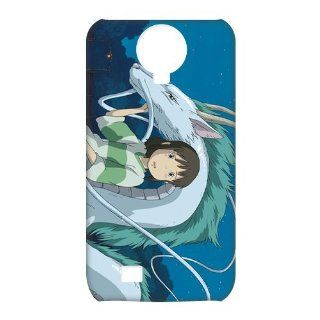 Spirited Away Anime 3D Cases Accessories for Samsung Galaxy S4 I9500 Cell Phones & Accessories