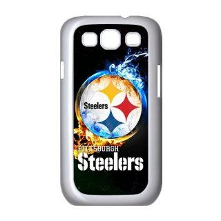 WY Supplier Design Printed Hard Case for Samsung Galaxy S3 I9300 Covers Pittsburgh Steelers logo White Color WY Supplier 146020 Cell Phones & Accessories
