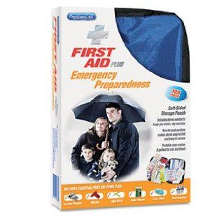 Soft Sided First Aid Kit, Plus Emergency Preparedness Items, 105 Pieces Automotive