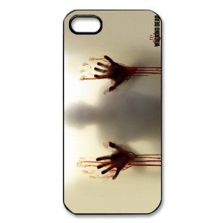 CoverMonster The Walking Dead Customized Plastic Hard Cover Case For Iphone 5 5S Cell Phones & Accessories