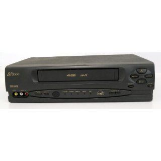 SV2000 SVA106AT22 Video Cassette Recorder Player VCR 4 Head Hi Fi Stereo Energy Star Rated Electronics