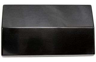 Billet Custom (GMBC 121 PL BLK) Plain Black Fuse Box Cover for Chevrolet Camaro Automotive