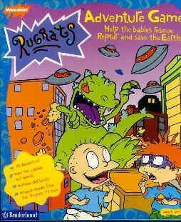 Nickelodeon Rugrats Adventure Game By Broderbund Software