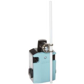Siemens 3SE5 122 0CH82 International Limit Switch Complete Unit, Rod Actuator, 56mm Metal Enclosure, Plastic Rod, 200mm Length, Snap Action Contacts, 1 NO + 1 NC Contacts Electronic Component Limit Switches