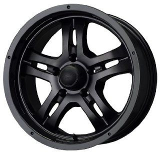 "MB Wheels Gunner 5 Matte Black Wheel (17x8""/5x127mm) Automotive"