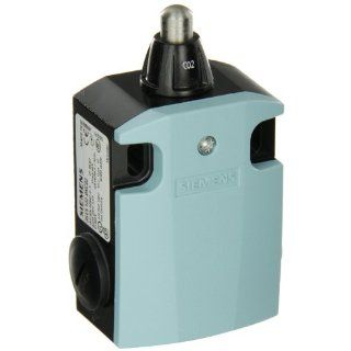 Siemens 3SE5 122 0KC02 International Limit Switch Complete Unit, Rounded Plunger, 56mm Metal Enclosure, High Grade Steel Plunger, 3mm Overtravel, Slow Action Contacts, 1 NO + 2 NC Contacts Electronic Component Limit Switches