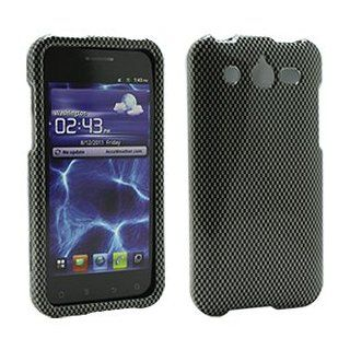 Carbon Fiber Snap On Cover for Huawei Mercury M886 Cell Phones & Accessories