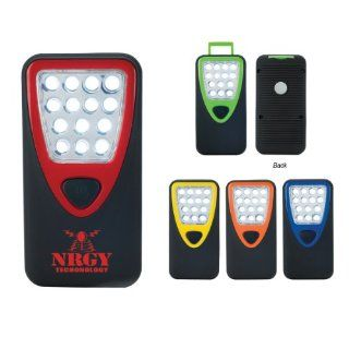 Heavy Duty 14 LED Work Light Custom Item # 124   only $5.89 ea. Includes Your Logo imprint. Rush shipped 144 pcs (min. qty)