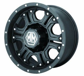 "Mayhem Havoc 8020 Matte Black Wheel (17x8""/6x139.7mm) Automotive"