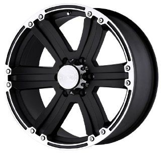 "Black Rhino Wheels Dune Series Matte Black Wheel with Machined Lip (20x9""/6x139.7mm) Automotive"