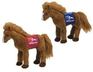 TY Beanie Babies   DERBY 134 the Horses ( RED & BLUE Versions   Set of 2 ) Toys & Games