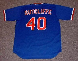 RICK SUTCLIFFE Chicago Cubs 1984 Majestic Cooperstown THROWBACK Away Baseball Jersey, 2XL  Sports Fan Baseball And Softball Jerseys  Sports & Outdoors