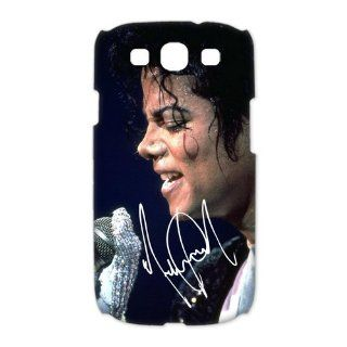 Custom Michael Jackson Case for Samsung Galaxy S3 I9300 (3D) WS3 152 Cell Phones & Accessories