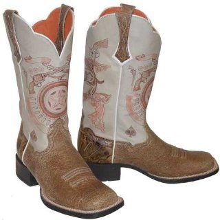 Ariat Showdown Square Toe Western Boots for Women 6.5 Sports & Outdoors