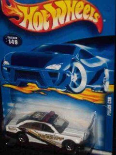 Hot Wheels Police Car 164 Scale Collectible Die Cast Car #149 Toys & Games