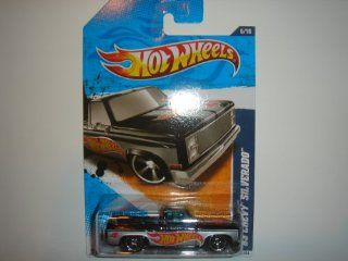 2011 Hot Wheels  Exclusive '83 Chevy Silverado Black #156/244 Toys & Games