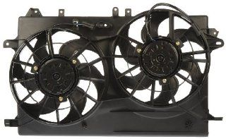 Dorman 621 166 Dual Fan Assembly for SAAB Automotive