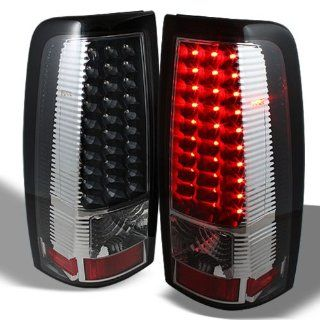 Chevy Silverado 1500/2500/3500 99 02 / GMC Sierra 1500/2500/3500 99 03 LED Tail Lights   Black Automotive