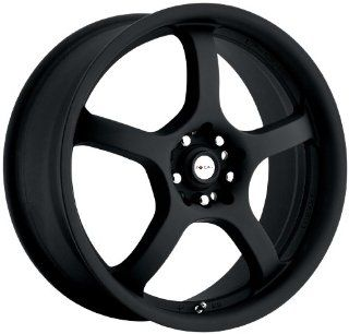 "Focal Type 166 F05 FWD Matte Black Wheel (17x7.5""/5x110mm) Automotive"