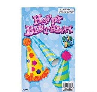 8 ~ Happy Birthday Pre filled Party Favor Bags ~ 8 10 Birthday Themed Items in Resealable Goody Bag ~ Assortment May Vary ~ New   Childrens Party Favor Sets