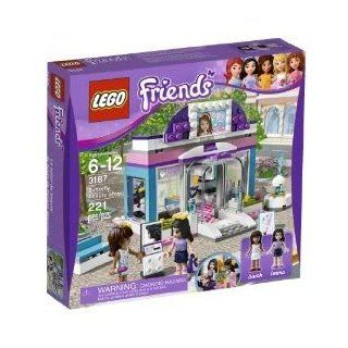 Toy / Game Pretty Lego Friends Butterfly Beauty Shop 3187   Sarah Mini Doll Figures W/ Bench & Salon Furniture Toys & Games