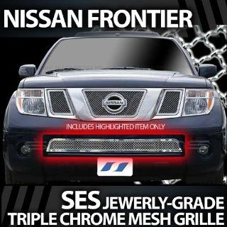 2004 2007 Nissan Pathfinder SES Chrome Mesh Grille Automotive