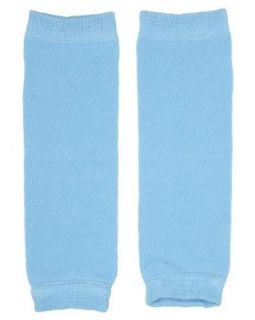 (183) NEWBORN solid blue baby boy or girl leg warmers   up to 15 pounds Clothing
