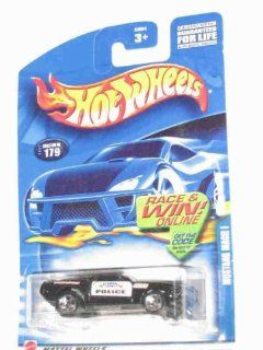 #2002 179 Mustang Mach 1 Police Tampos Collectibles Collector Car Mattel Hot Wheels 164 Scale Toys & Games