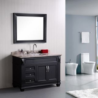 Design Element Hudson 48 in. Single Bathroom Vanity Set   Single Sink Bathroom Vanities