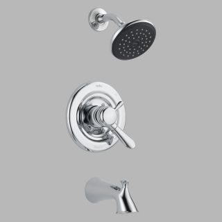 Delta Lahara T17438 Monitor 17 Series Wall Mount Tub and Shower Trim Set   Bathtub Faucets
