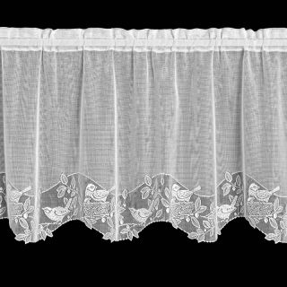 Heritage Lace Birds & Berries Tier   Curtains