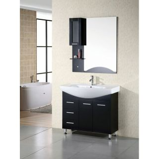 Design Element Sierra 40 in. Single Bathroom Vanity Set   Single Sink Bathroom Vanities