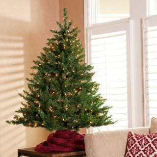 Classic Tabletop Pre lit Christmas Tree  4.5 ft.   Christmas Trees