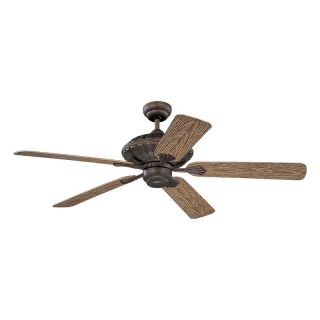 Monte Carlo 5CZ52RB Cozumel 52 in. Indoor / Outdoor Ceiling Fan   Roman Bronze   ENERGY STAR   Outdoor Ceiling Fans