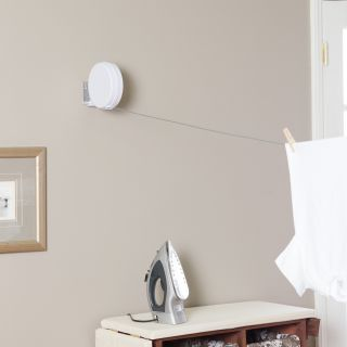 Household Essentials R 400 40 ft. Indoor/Outdoor Retractable Clothesline   Clotheslines