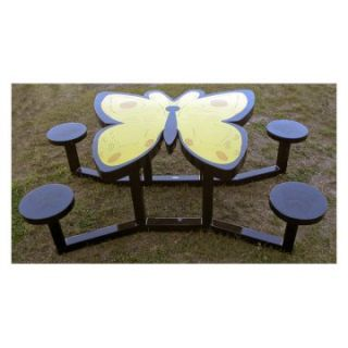 OFab Kid's Butterfly Picnic Table   Kids Picnic Tables