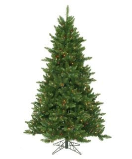 Pre lit Multi Light 6.5 ft. Camdon Fir Tree   Christmas Trees