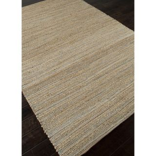 Jaipur Himalaya Canterbury Natural Solid Pattern Jute/Cotton Rug   Area Rugs