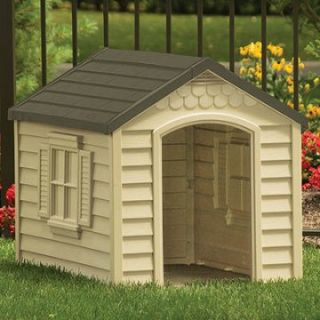 Suncast Small/Medium Deluxe Dog House   Dog Houses