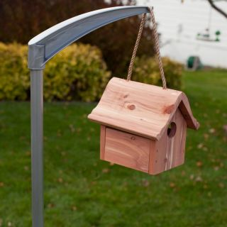 Perky Pet Universal Bird Feeder & Bird House Pole   Bird Bath Accessories