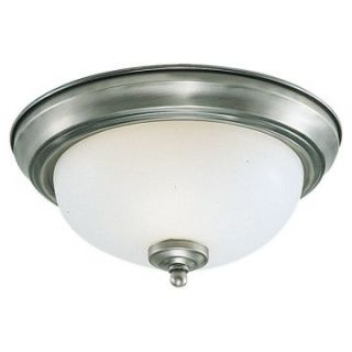 Sea Gull Stockholm Ceiling Light   10.5W in. Brushed Nickel   Ceiling Lighting
