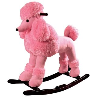 Baby Pink Rocking Poodle   Rocking Toys