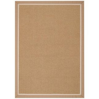 Capel Rugs Coconut Grove Indoor/Outdoor Area Rug   Tan/Washed Beige   Area Rugs