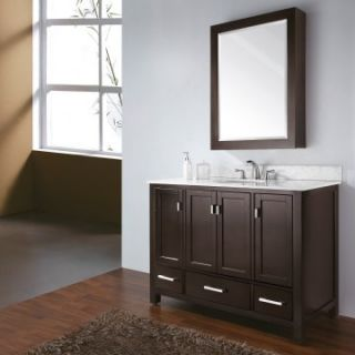 Avanity Modero 48 in. Single Bathroom Vanity with Optional Mirror / Cabinet   Single Sink Bathroom Vanities
