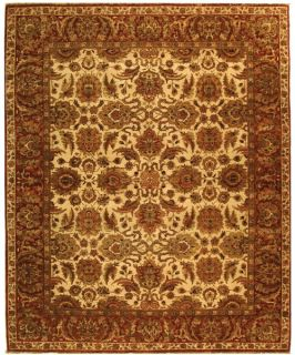 Safavieh Old World OW115G Area Rug   Ivory/Rust   Area Rugs