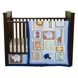Trend Lab Baby Jungle 123 3 pc. Crib Bedding Set   Baby Bedding Sets